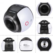 V1 360 panoview camera wifi 220*360 degree lens 2448*2448 ultra HD recording panorama V1 panoview 360 degree sport camer