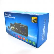 T636 3.0 inch Dual Camera DVR HD 1080P Dual Lens Dash Cam Video Recorder rear camera Night Vision Car DVR Camcorder