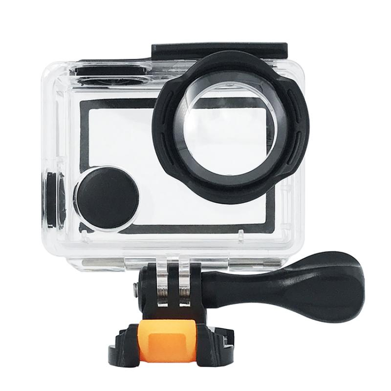 New Style 20M Waterproof Housing Case Mount Light Fender Design for H5S/H6S EKEN Camera Accessories Waterproof Case for