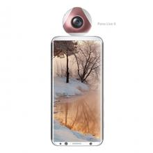 New 2MP 2.7K Pano Live II Mini Action Cam 360 degree Dual Lens 360 Cam Pano S2 Panorama Camera for Android Smartphone