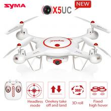 Syma X5C X5UC Helicopter Upgrade with 2MP HD Camera with Altitude Mode 2.4G 4CH RC Quadcopter Drone SYMA X5UC